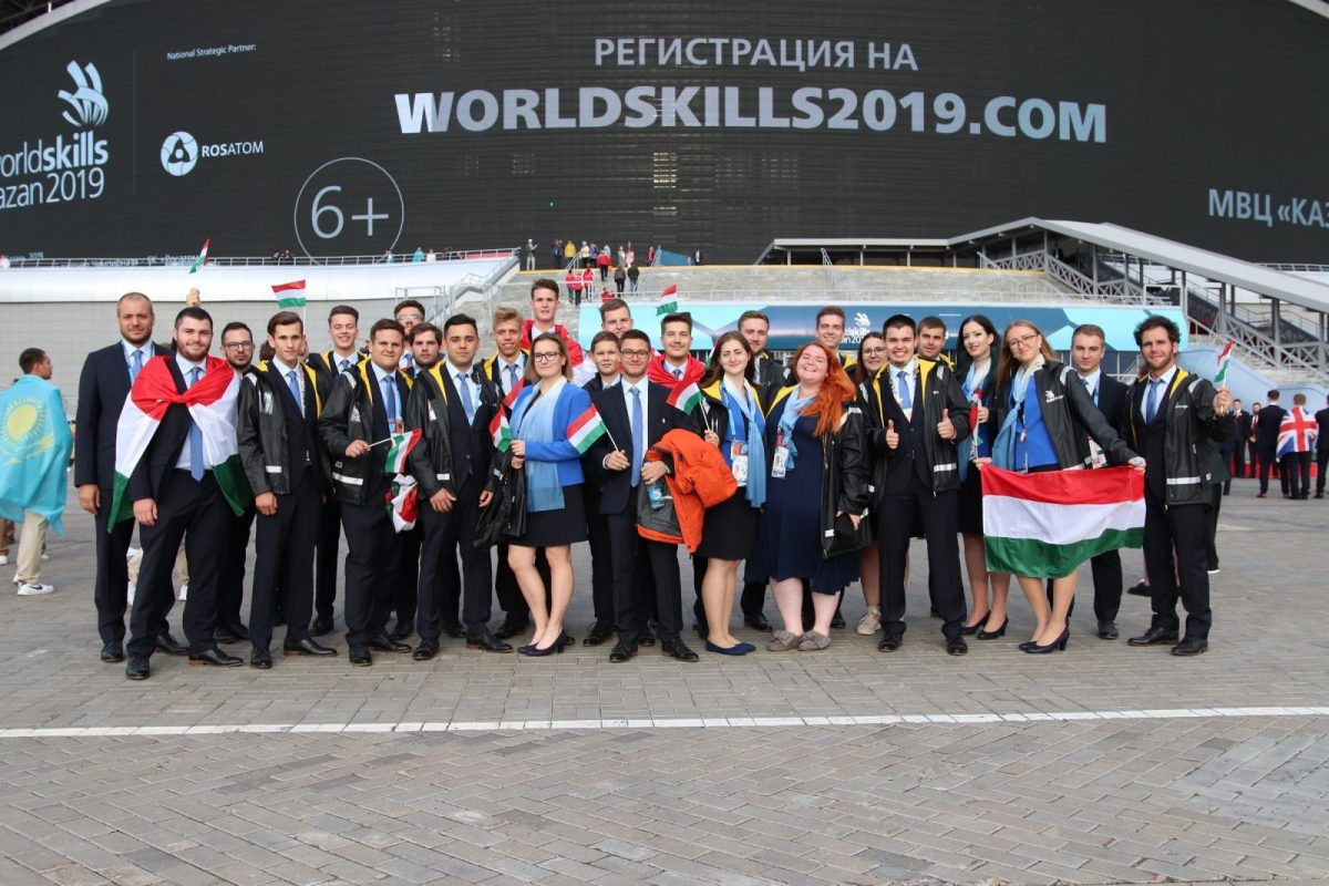 Magyar aranyérem is született az idei WorldSkills versenyen