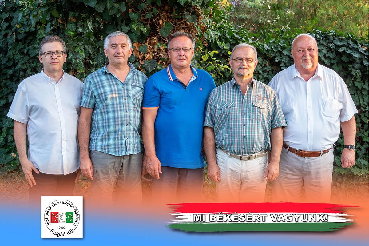 Kálmán Tibort és csapatát támogatja a Jobboldali Összefogás