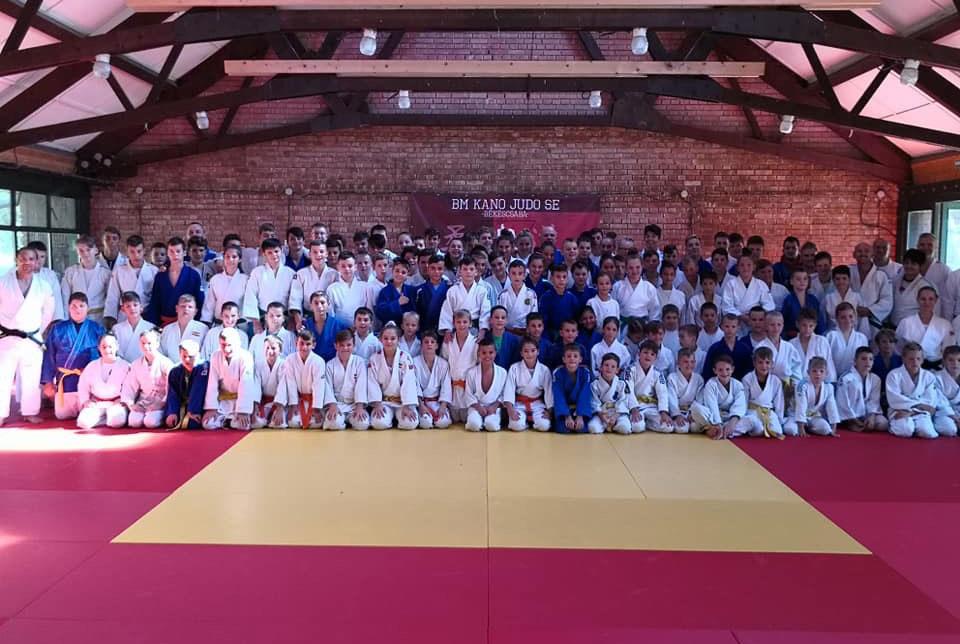 Ötödik alkalommal rendezte meg nemzetközi edzőtáborát a BM Kano Judo SE