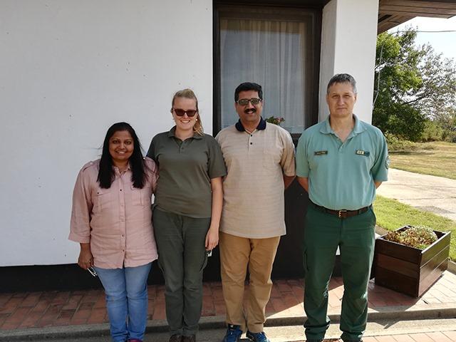 Indiai túzokvédelmi szakember látogatott a Körös-Maros Nemzeti Parkba
