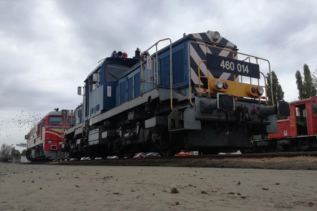 Mozdonyparádéval várták a vonatok szerelmeseit