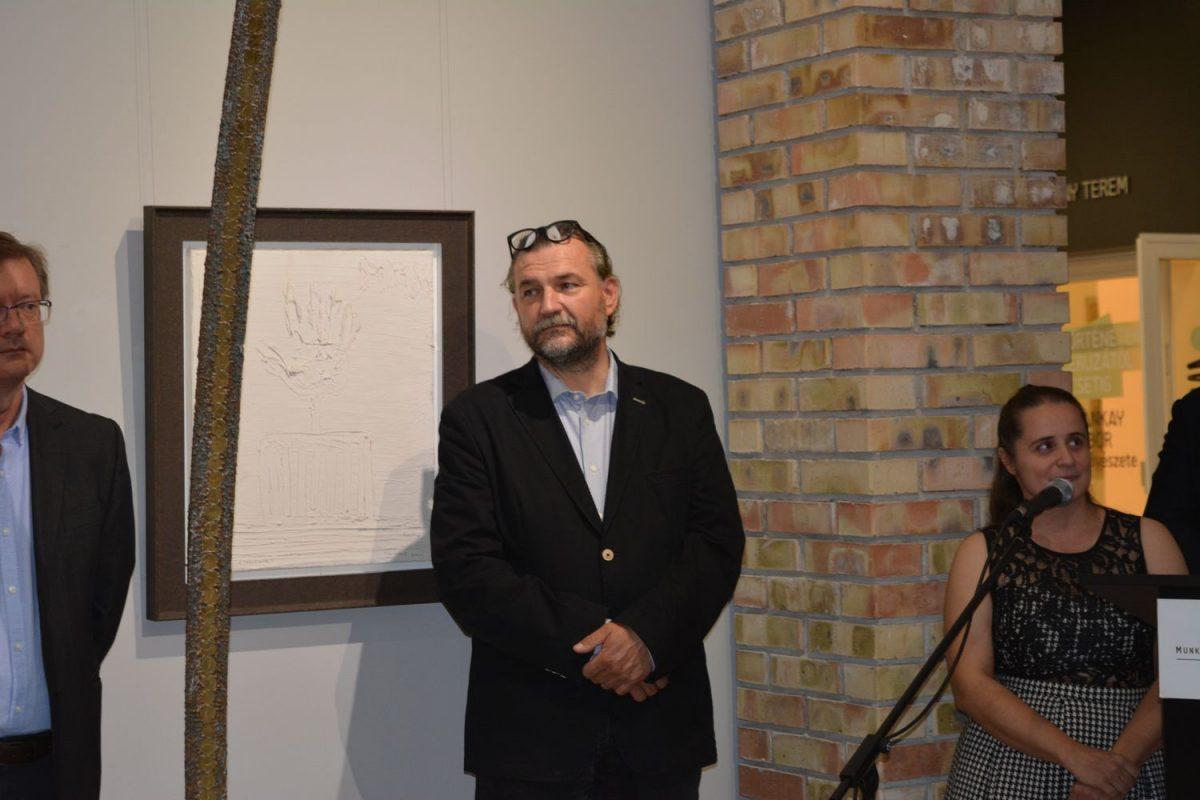 Milan Lukáč alkotásaiból nyílt kiállítás a Munkácsyban
