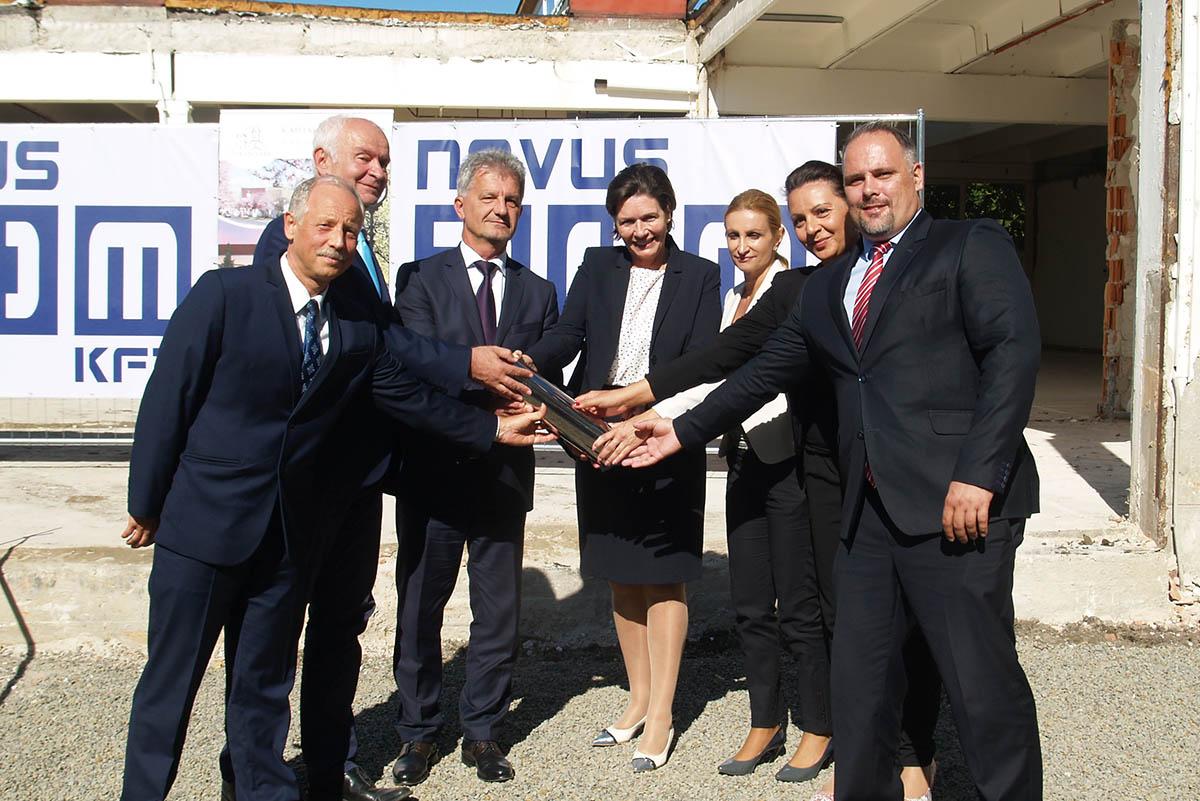 Alapkőletétel – Elindult a békéscsabai képzőközpont kialakítása