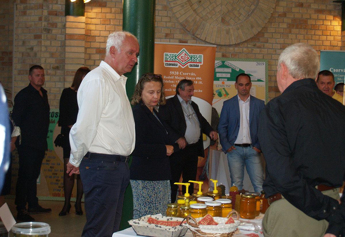 Szakmai rendezvényen vehettek részt a csorvási vállalkozók