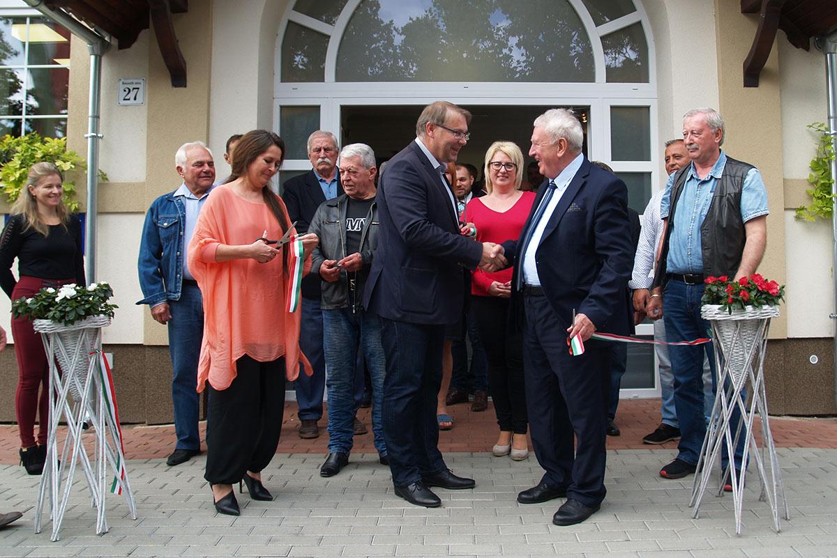 Energetikai korszerűsítésen esett át a Sarkadi Polgármesteri Hivatal