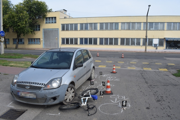 Két kerékpáros sérült meg Szarvason