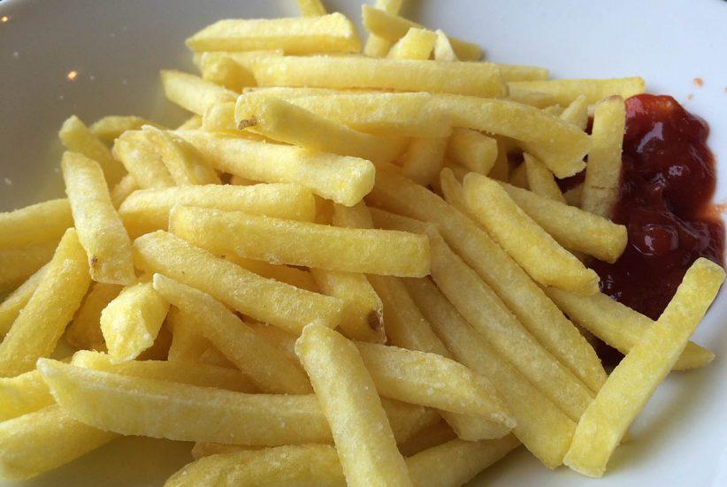 krumpli, kaja, étel, megvakult