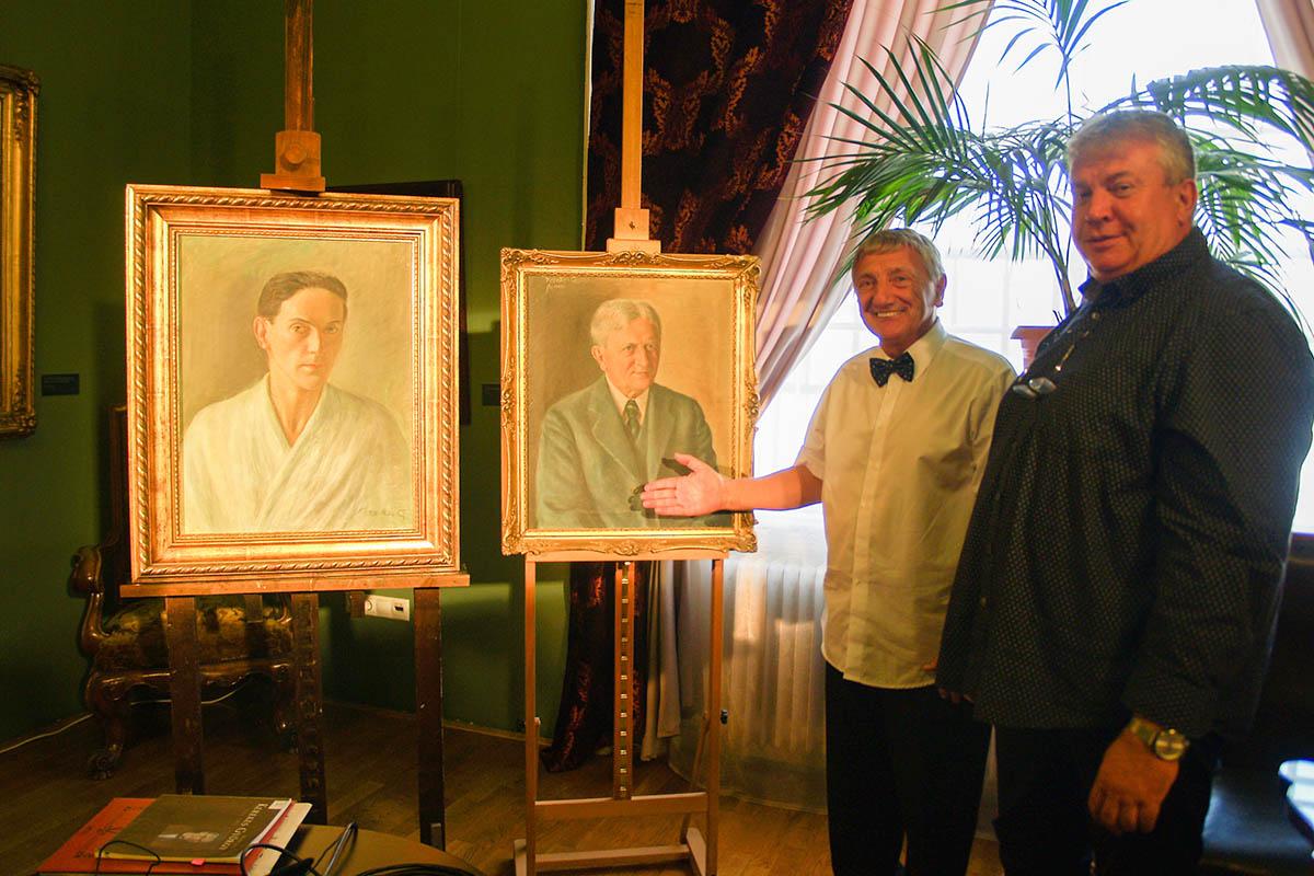 Kerekes Ernő portréja is a Munkácsy Múzeumba került