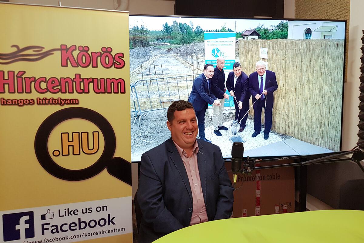 Bakucz Péter: 2017-ben indult el egy fejlesztési hullám Sarkadkeresztúron
