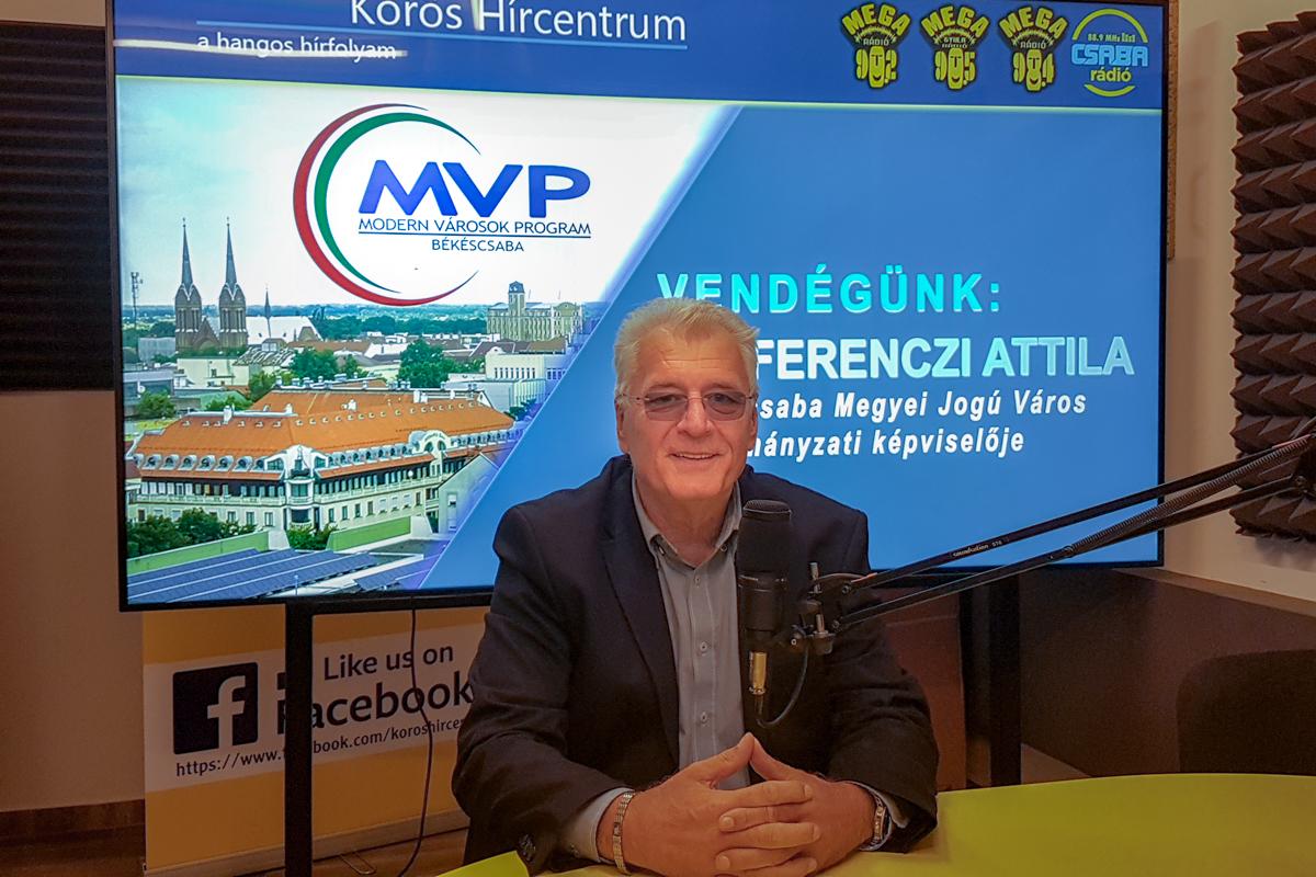 Dr. Ferenczi Attila: A fejlesztésektől Békéscsaba még élhetőbb lesz