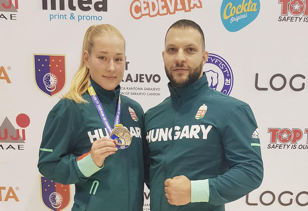Mezei Nikolett Európa-bajnok!