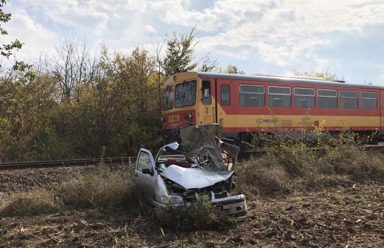 MÁV: nőtt a halálos balesetek száma a vasúti átjárókban