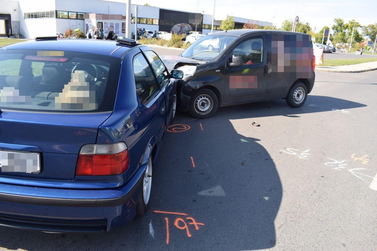 Két közlekedési baleset, egy őrizetbe vétel a tegnapi mérleg