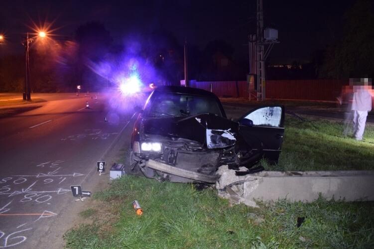 Két baleset miatt helyszíneltek tegnap