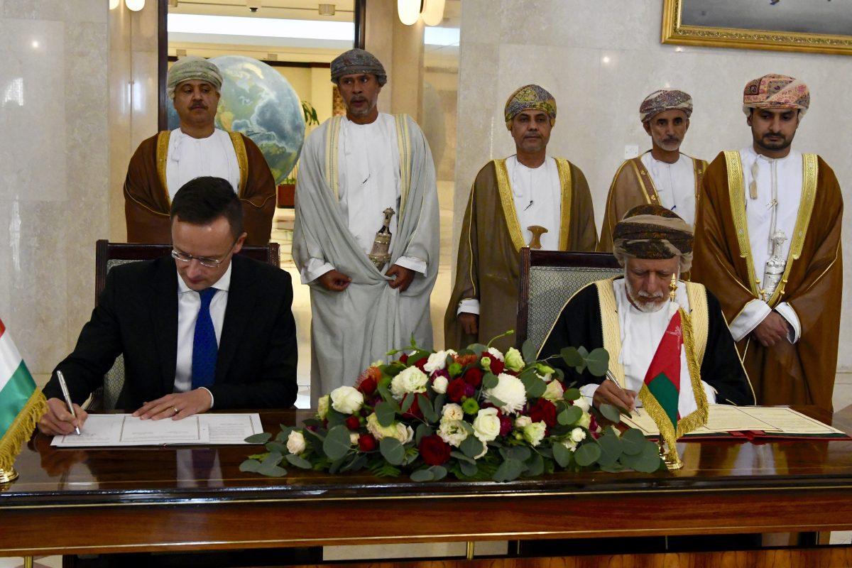 Magyar képviselet nyílt Omán fővárosában