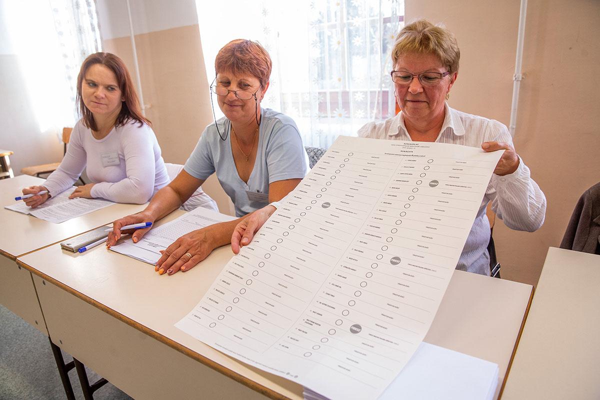 Kunágota rendelkezik a legnagyobb szavazólappal