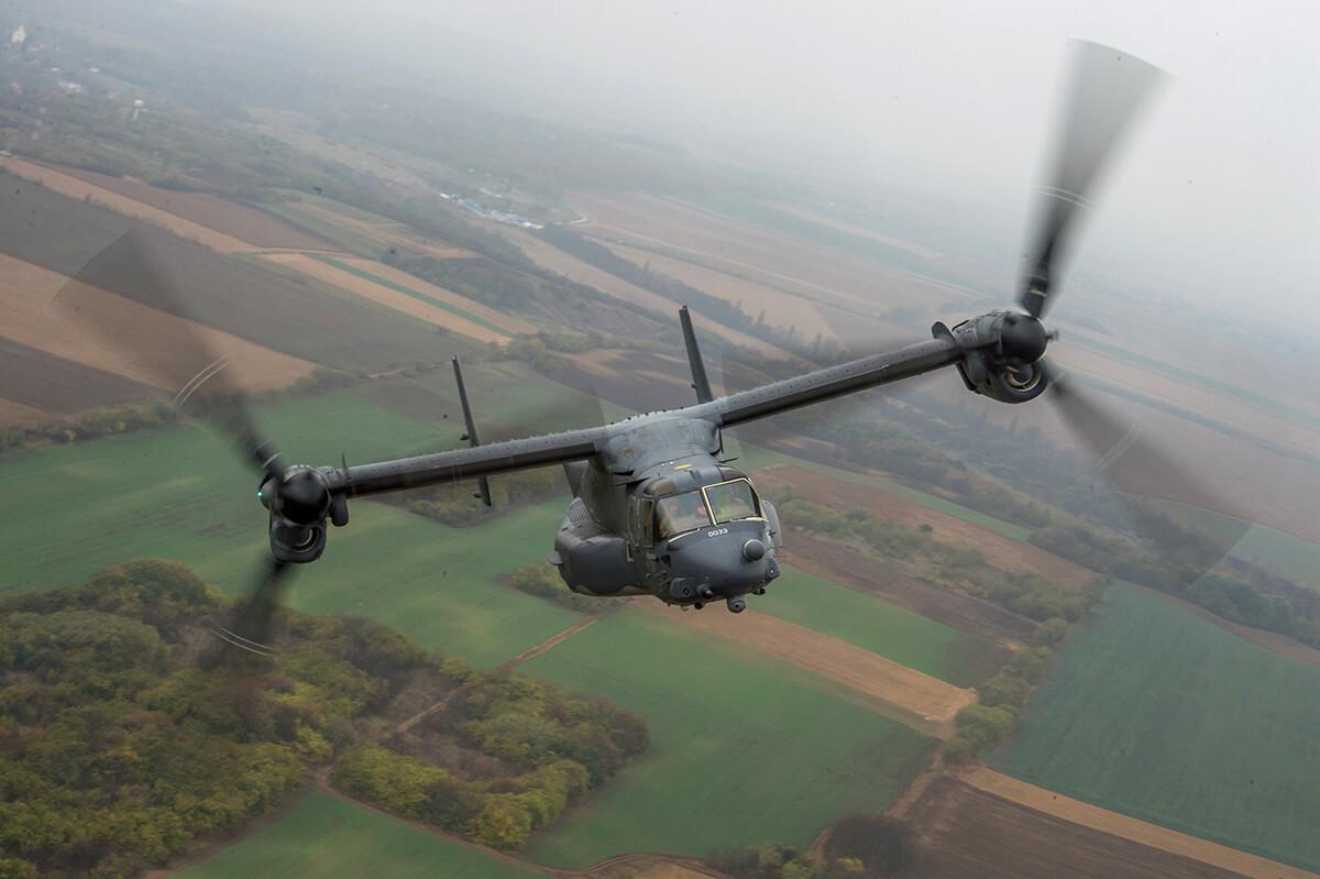 Az amerikai légierő speciális repülőjével tart bemutatót kedden Budapest felett