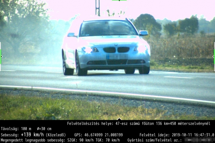 Egy nap kétszer is lefényképezték a BMW-t