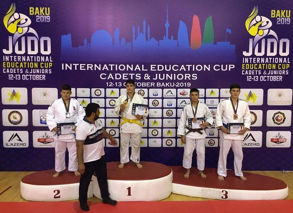 Kara Bence Bakuban, Soczó Rebeka és Szentandrászki Gréta itthon lett ezüstérmes