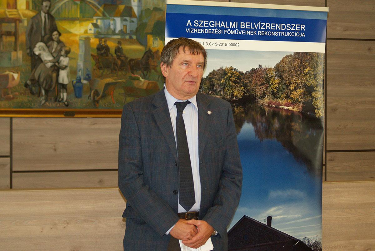 EU finanszírozással újulnak meg a szeghalmi belvízrendszer főművei