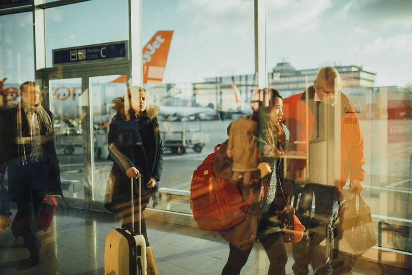 repülőtér, csomag, Ferihegy