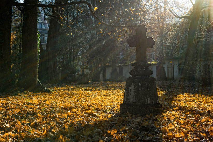 temető, halottak napja