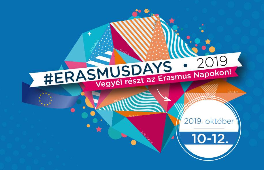 Csütörtökön kezdődik az Erasmus Napok rendezvénysorozat