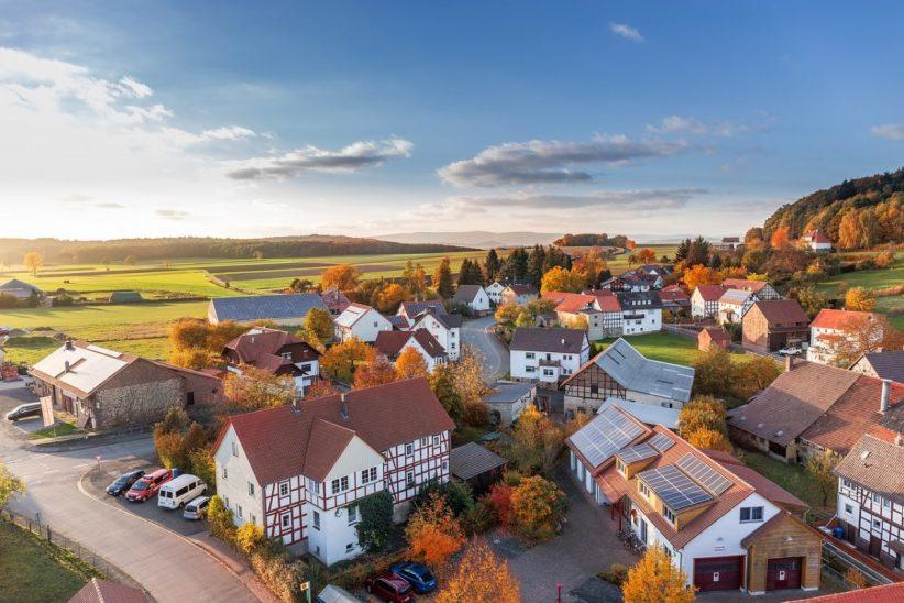 falu, magyar falu