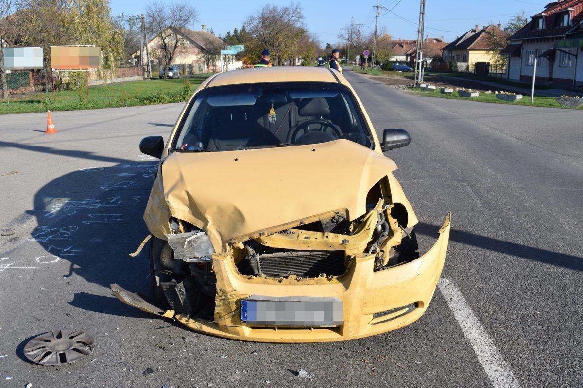 Dobozon baleset, Mezőberényben szabálysértés miatt intézkedtek