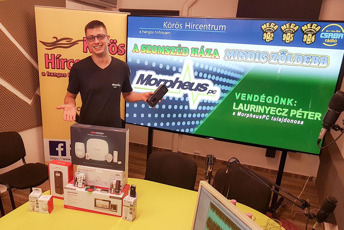 Laurinyecz Péter: használjunk környezetbarát technológiákat!