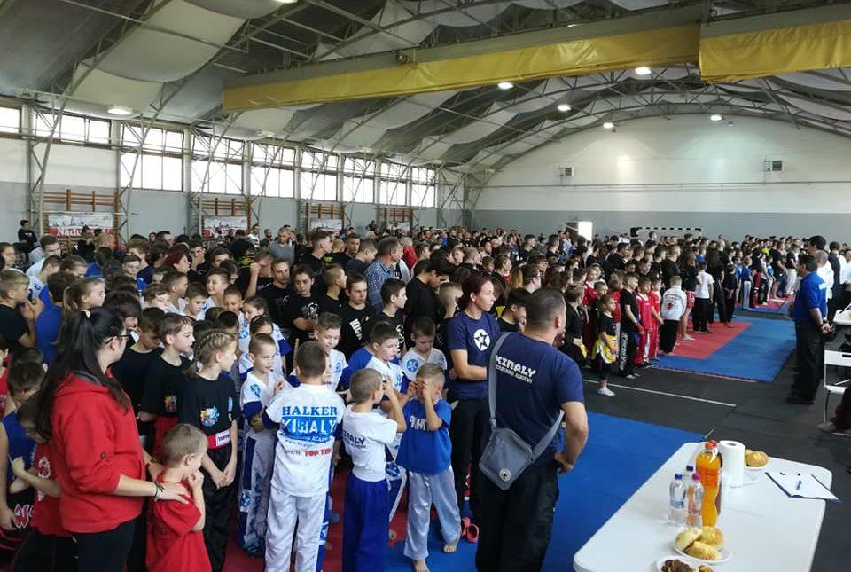 Országos kick-box versenyt rendeztek Nádudvaron