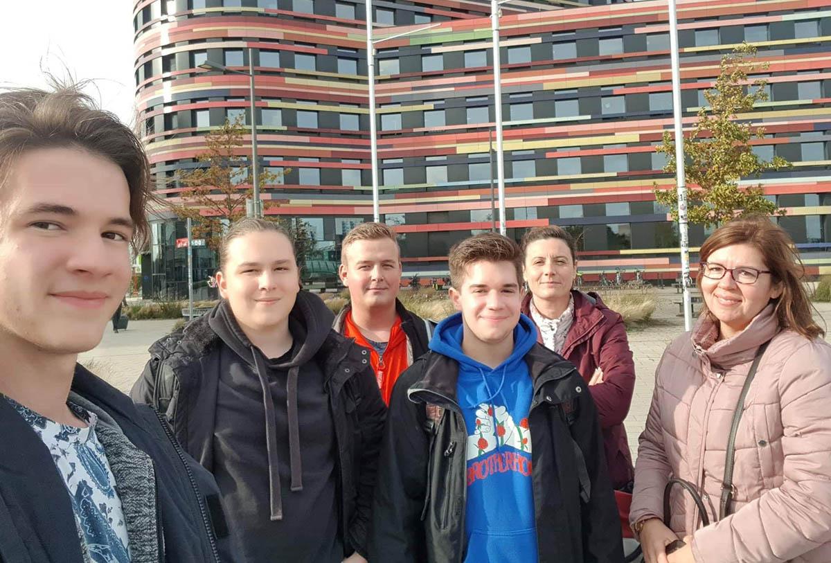 Vízműs földmérők vettek részt tanulmányi kiránduláson Hamburgban