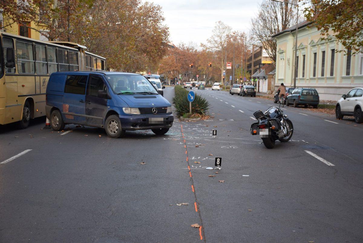 Hét közlekedési baleset történt a megyében tegnap
