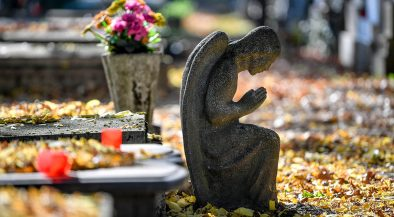 halottak napja, temető, temetőben