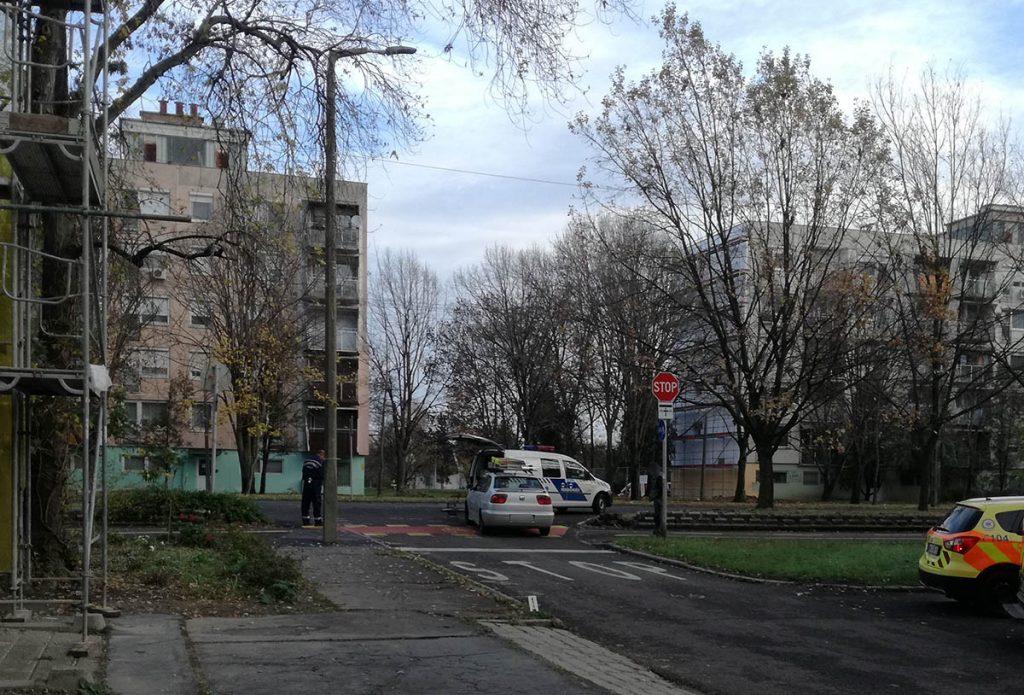 baleset Békéscsabán, kerékpárost ütöttek