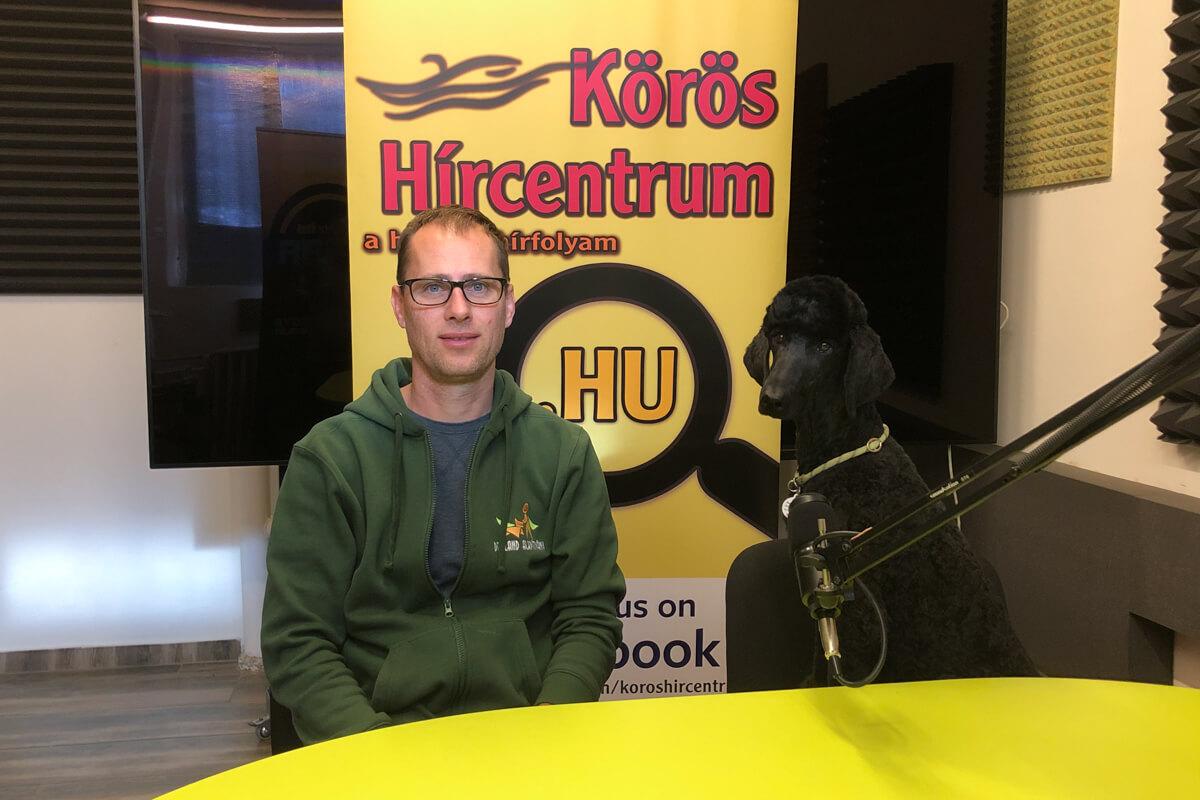 Pálfi Péter: A segítő kutyák képzése is előtérbe kerül