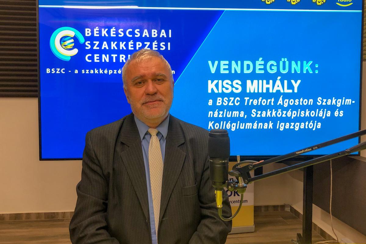 Kiss Mihály: A Trefort képzéseinél is lesz változás