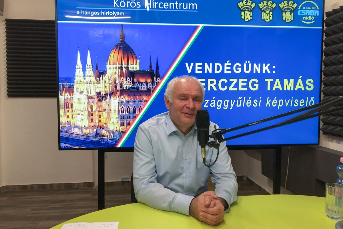 Herczeg Tamás: az alsóbbrendű utak fejlesztése is tervben van