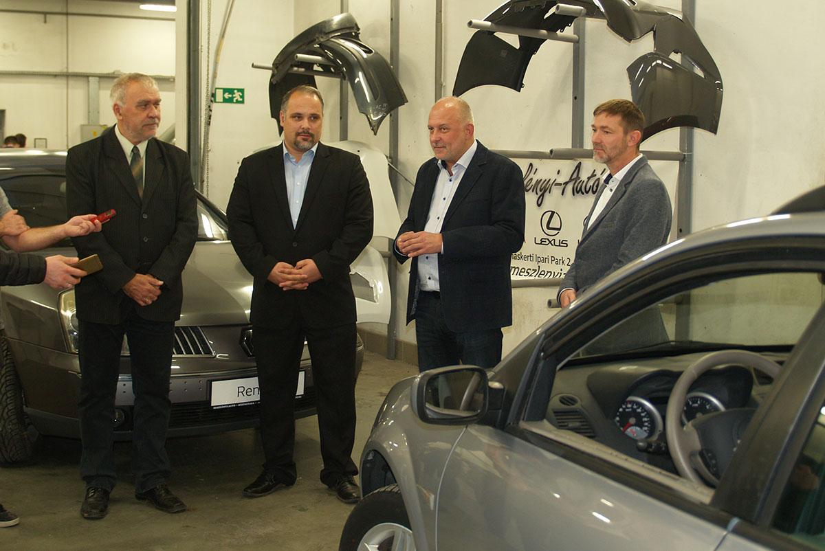 Újabb járműveket kapott a Békéscsabai Szakképzési Centrum