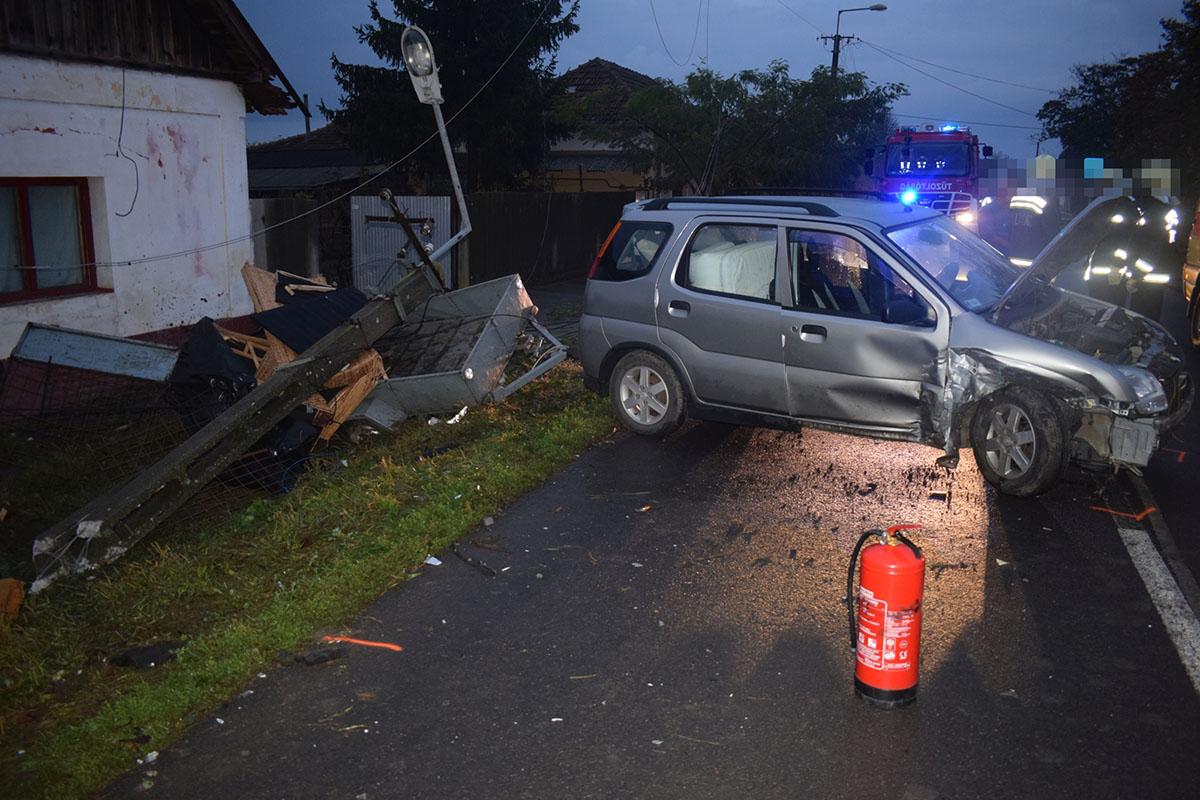Három baleset történt pénteken a megyében
