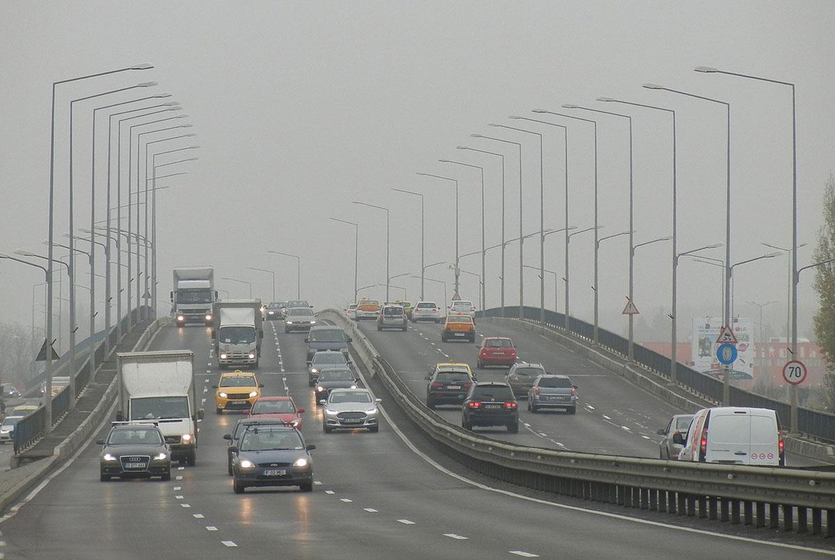 Sűrű köd veszélye miatt adtak ki figyelmeztetést Békés megyére