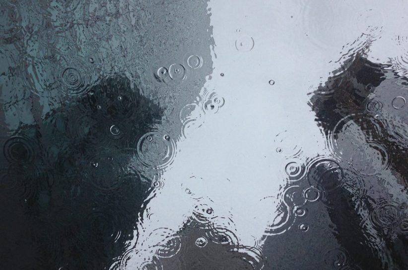 hidegfront, esős, nyári, lehűlés, eső, csapadék, hidegfront