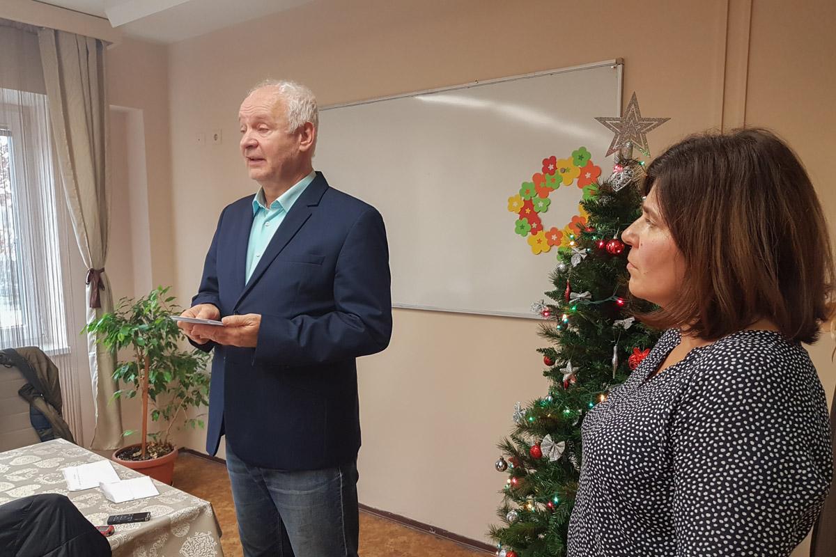 A karácsonyfa vásárlásban segít a rászorulóknak Herczeg Tamás