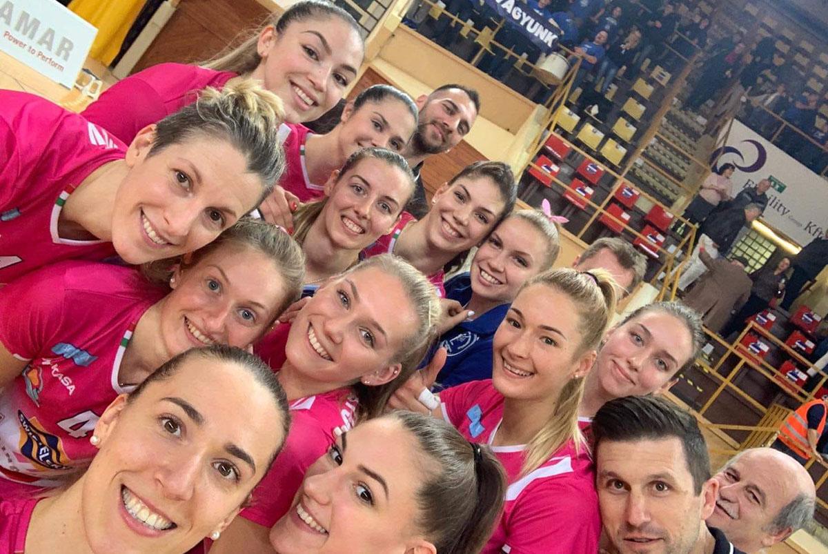 Női röplabda Challenge Kupa – Továbbjutott a Békéscsaba