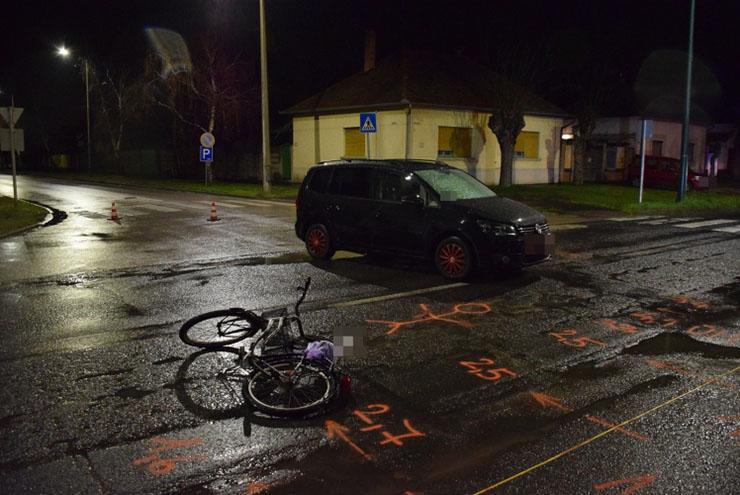 Szeghalmon és Gyulán is biciklist ütöttek el