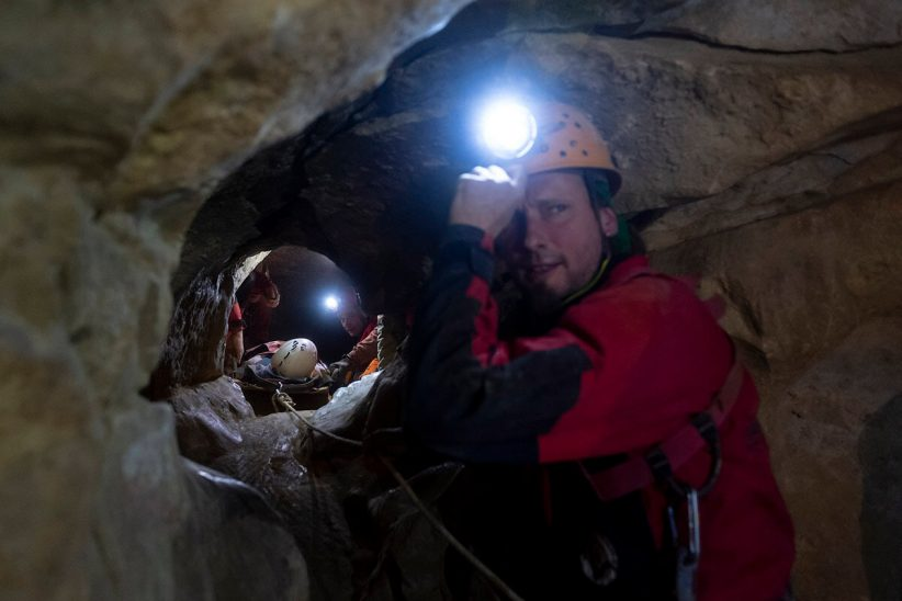 barlang, mentés