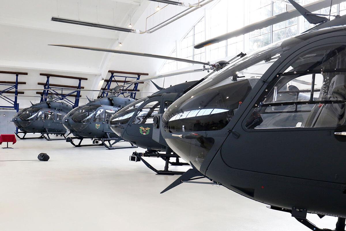 Átadták az új helikopterflotta első négy tagját Szolnokon