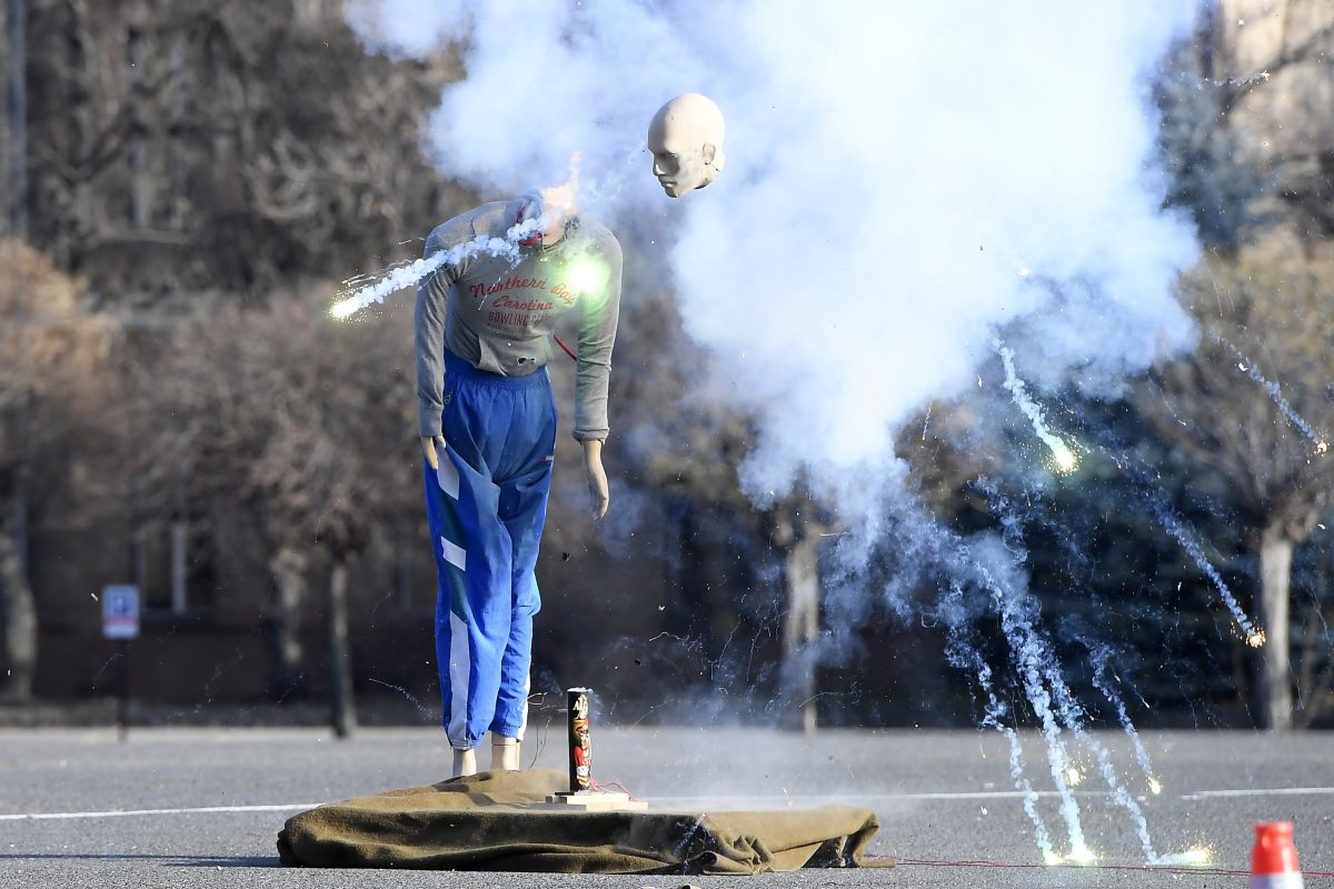 A hatóságok csak legális szilveszteri tűzijáték használatát javasolják
