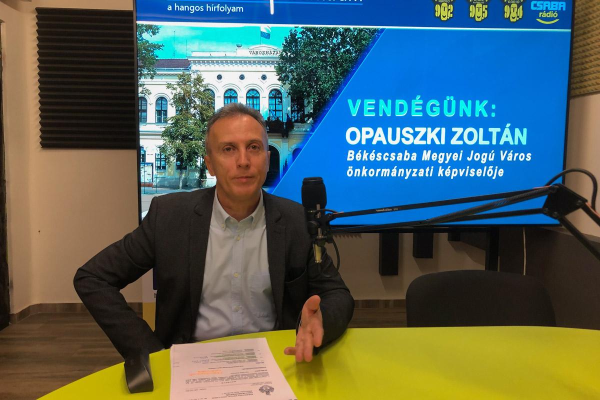 Opauszki Zoltán: Jelentős bevételtől esett el a város a veszélyhelyzet alatt