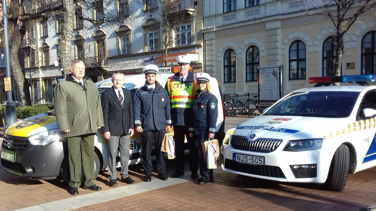 Idén is elismerték a közlekedésbiztonság javításáért dolgozó rendőröket